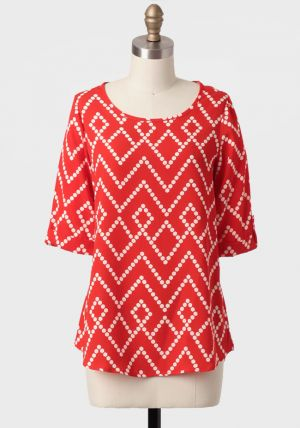 Moving On Geometric Print Blouse.jpg