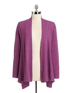 Open-Front Cardigan - purple - Eileen Fisher.jpg