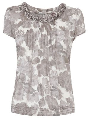 Phase Eight Dalilah Blouse Silver.jpg