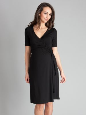 Seraphine Renee Wrap Dress Black.jpg