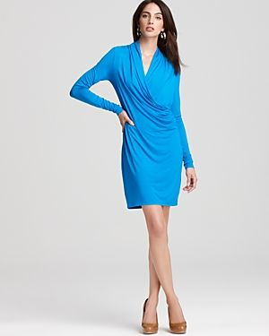 Three Dots Faux Wrap Dress.jpg