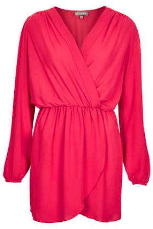 Topshop Long Sleeve Wrap Dress by Love.jpg