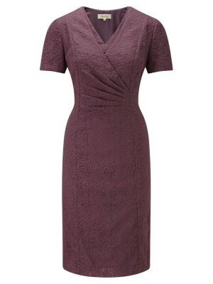 Viyella Embroidered Wrap Dress Amethyst.jpg
