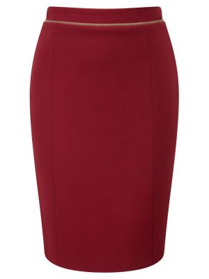 Viyella Pencil Skirt Berry.jpg