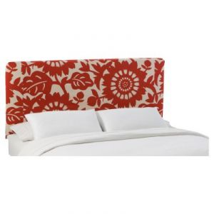Best decorating blogs - home d ecor - Gerber Cherry Slipcover Headboard - Skyline.jpg