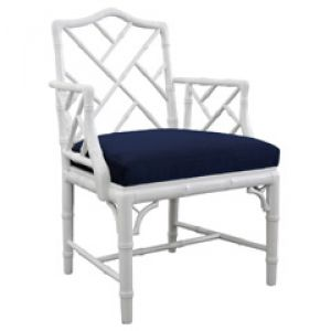 Create an elegant home - Jonathan Adler Chippendale Arm Chair White.jpg