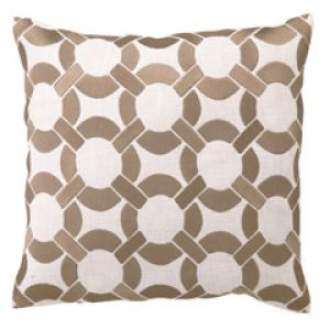 DL Rhein Mod Link Taupe Embroidered Linen Pillow.jpg