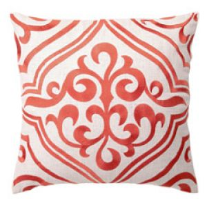 DL Rhein Tile Mango Embroidered Linen Pillow.jpg