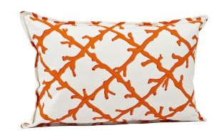 Ecoaccents Coral Lattice 14x22 Pillow Orange.jpg