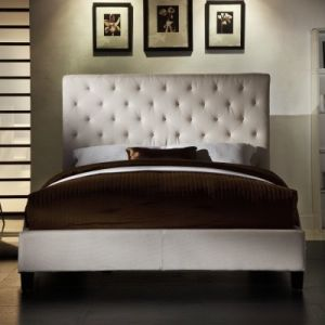 Fenton Tufted Upholstered Low Profile Bed - Ivory Linen.jpg