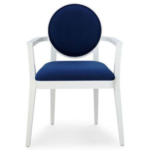 Happy Chic by Jonathan Adler Crescent Heights Armchair - navy white.jpg
