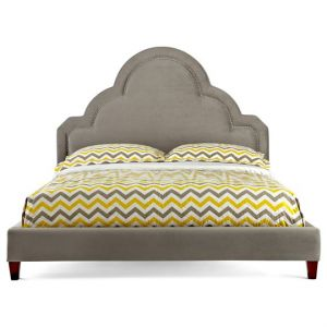 Happy Chic by Jonathan Adler Crescent Heights Velvet tufted bed.jpg