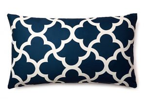 Home decor pictures - Divine Designs Mirrored 14x24 Outdoor Pillow Navy.jpg