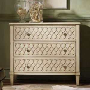 Hooker Furniture 3-Drawer Raised Lattice Front Chest - interior design blog.jpg