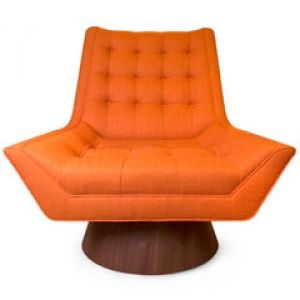 Jonathan Adler Whitaker Stockholm Saffron Chair - orange tufted.jpg