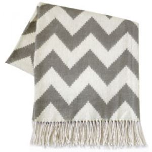 Jonathan Adler Zig Zag Grey Throw Blanket.jpg