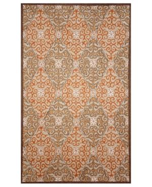 Liora Manne Area Rug - Indoor Outdoor Promenade Lakai Diamond Coral.jpg