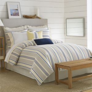 Nautica Prospect Harbor Sheet Set - King - Blue Tan Yellow.jpg
