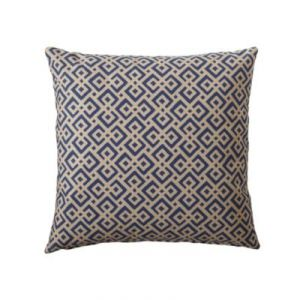 Navy Lattice Pillow Cover - Serena & Lily via myLusciousLife.com.jpg