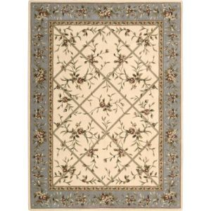 Nourison Lattice Ivory Rug rectangle - Lattice Ivory.jpg
