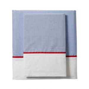 Serena & Lily - Chambray Red Sheet Set.jpg