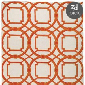 Shop for home decor online - Global Views Arabesque Coral Rug.jpg