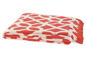 Shop for home decor online - Happy Habitat Ventana Throw Coral.jpg