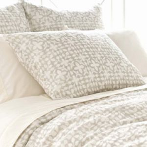 Shop for home decor online - Pine Cone Hill Veena Grey Pillow Sham via myLusciousLife.com.jpg