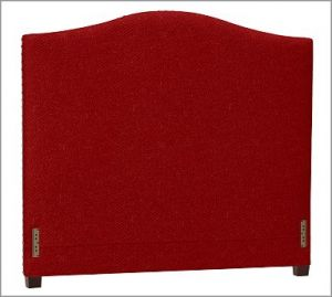 Shop home accessories - Raleigh Nailhead Camelback Headboard Cal. King Twill Sierra Red.jpg