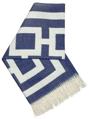 apartment decor - Navy Jonathan Adler Richard Nixon Throw.jpg