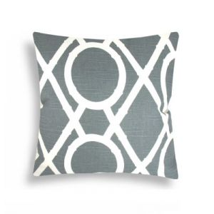 diy home decor -Domusworks Lattice Grey Decorative Pillow.jpg