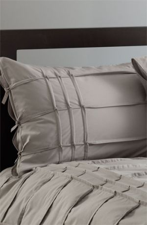 diy home decor -Grey Nordstrom at Home Carson Pillow Sham Grey Opal Standard.jpg