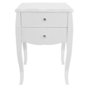 diy home decor -One Kings Lane Darla Side Table White.jpg