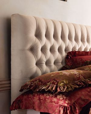 home & garden - Old Hickory Tannery Queen Headboard via myLusciousLife.com.jpg