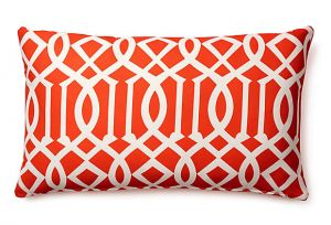 home decorating blogs - Divine Designs - Variance 14x24 Outdoor Pillow Red.jpg