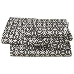 home decorating blogs - DwellStudio Home Knotted Trellis Ink Queen Sheet Set.jpg