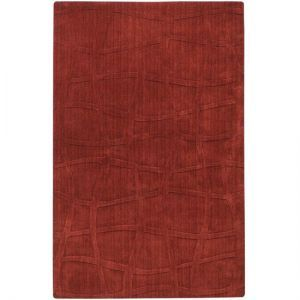 home living - CC Home Furnishings Bas-Relief Lattice Sienna Red Wool Area.jpg
