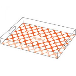home living - Jonathan Adler Personalized Tray Hollywood - lucite orange.jpg