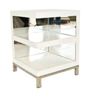 home living - Worlds Away Warner Open Ended White Side Table.jpg
