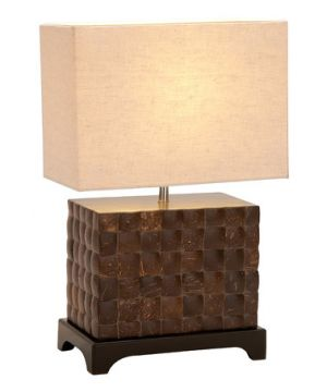 homewares - UMA Enterprises Wood Square Gasa Lamp via myLusciousLife.com.jpg