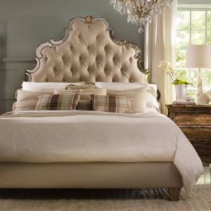 shop online for homewares - Hooker Furniture - Sanctuary Tufted Platform Bed.jpg