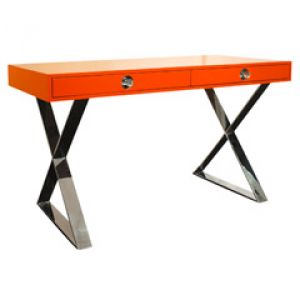 shop online for homewares - Jonathan Adler Channing Desk Orange.jpg
