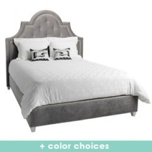 shop online for homewares - Jonathan Adler Woodhouse King Bed via myLusciousLife.com.jpg
