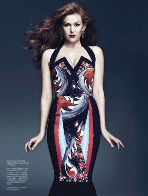 Isla Fisher by Chris Nicholls for Fashion Magazine May 2013