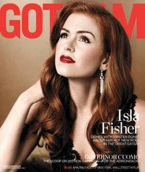 Isla Fisher for Gotham Magazine May-June 2013