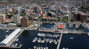 hobart city - aerial view - photos of Australia.jpg