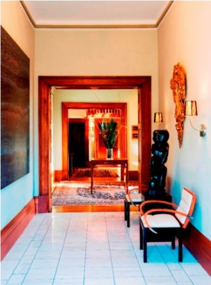Islington Hotel Hobart - Luxury boutique accommodation in Hobart Tasmania hallway.jpg