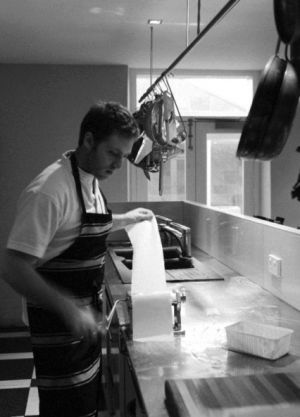 Islington Hotel Hobart CBD - Luxe travel in Tasmania - making pasta.jpg