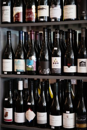 Luscious travel in Hobart - Tassie Pinot Noir at Cool Wine on a Gourmania Food Tour - photos by Jonathan Wherrett.jpg
