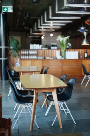 Travel in style - Hobart Gourmania Food Tours - Smolt restaurant in a quiet moment by Jonathan Wherrett.jpg